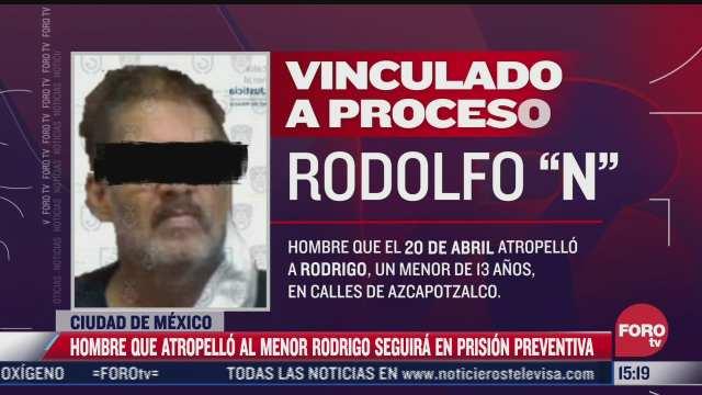 presunto responsable de muerte de nino rodrigo seguira en prision preventiva