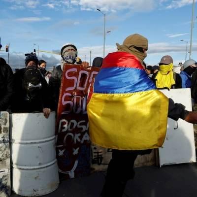 Convocan a nueva jornada de protestas en Colombia tras fallido diálogo con Iván Duque