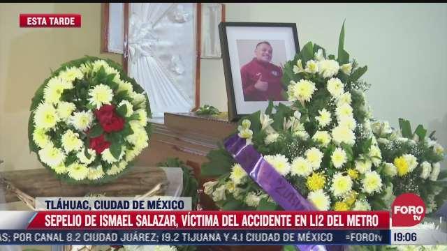 funeral víctima accidente Metro Olivos L12 CDMX