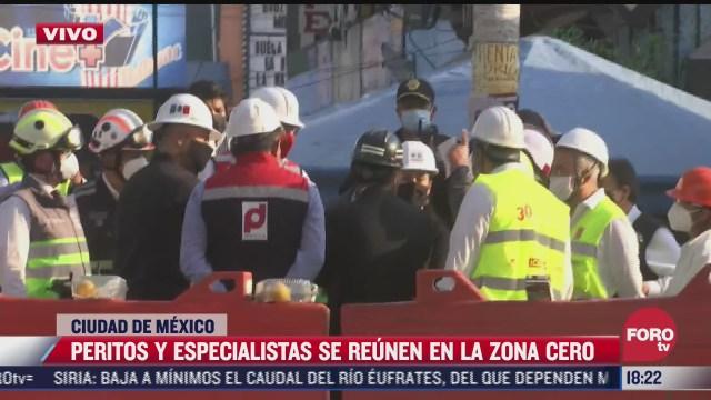 sheinbaum recorre nuevamente zona del accidente de l12 del metro