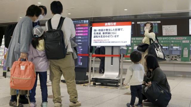 Sismo de magnitud 6.8 sacude noroeste de Japón sin alerta de tsunami