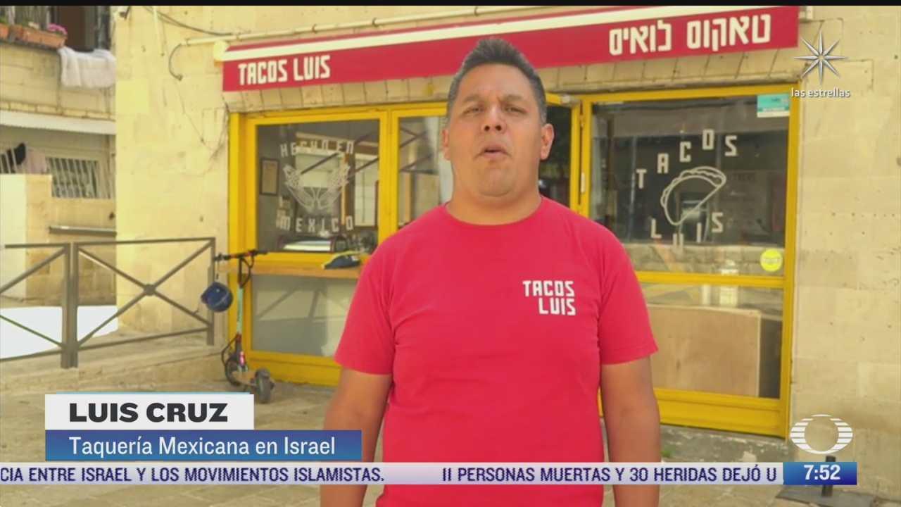 taquero mexicano en israel
