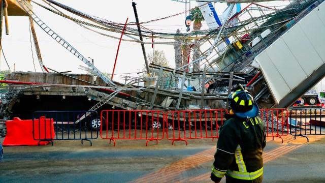 Tardarán meses las investigaciones que determinen qué causó desplome de trabe en Metro Olivos