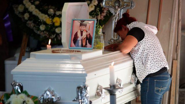 Velan a Brandon Giovanny, niño que murió en accidente del Metro