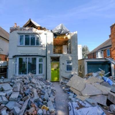 Albañil destruye casa que remodeló tras dicutir con dueño