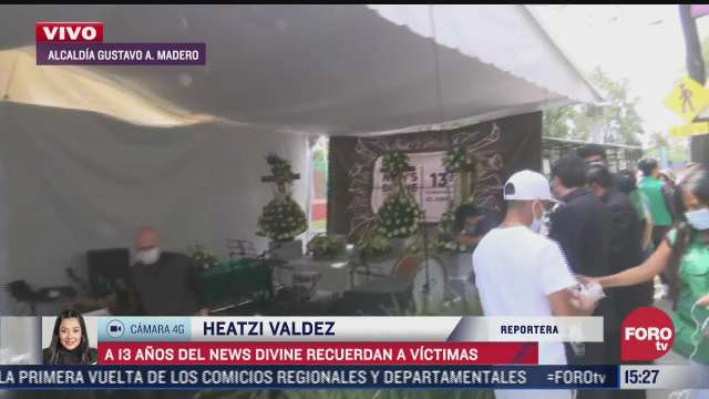 a 13 anos del news divine recuerdan a victimas