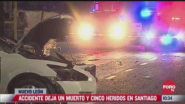 accidente carretero deja una persona muerta en nuevo leon