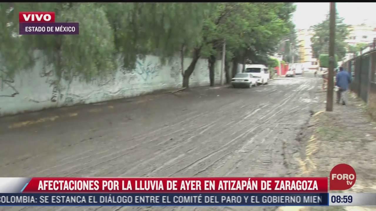 afectaciones por lluvia en atizapan de zaragoza estado de mexico
