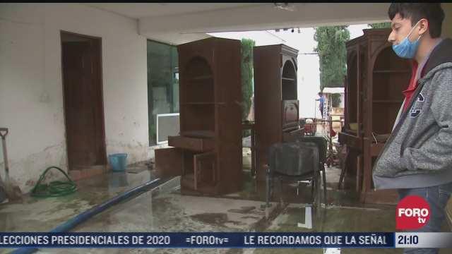 alrededor de 200 casas presentan danos por inundaciones en atizapa