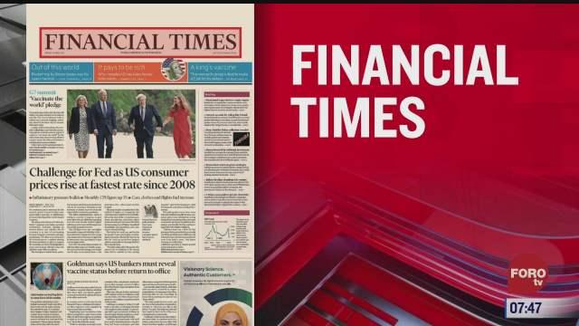 analisis de las portadas nacionales e internacionales del 11 de junio del