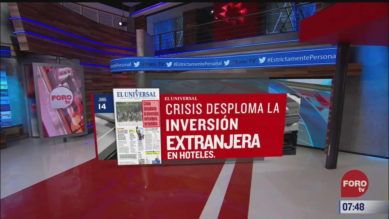 analisis de las portadas nacionales e internacionales del 14 de junio del