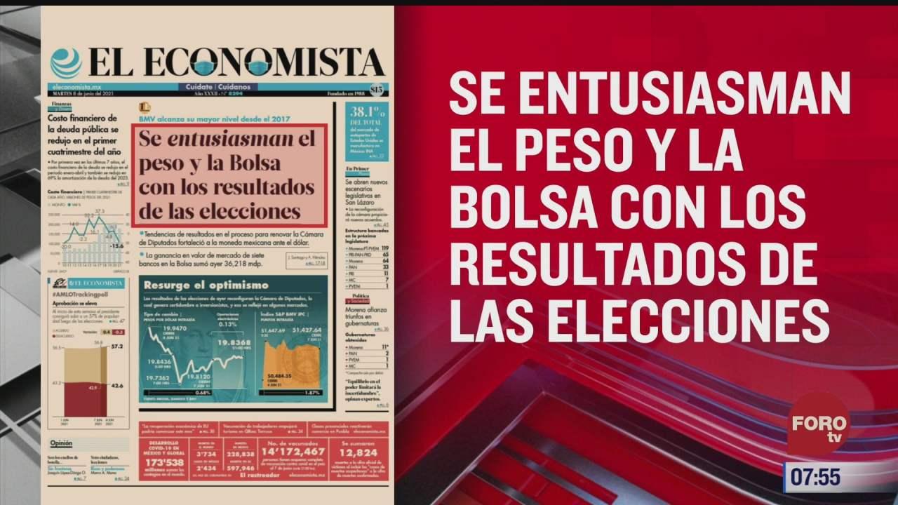analisis de las portadas nacionales e internacionales del 8 de junio del