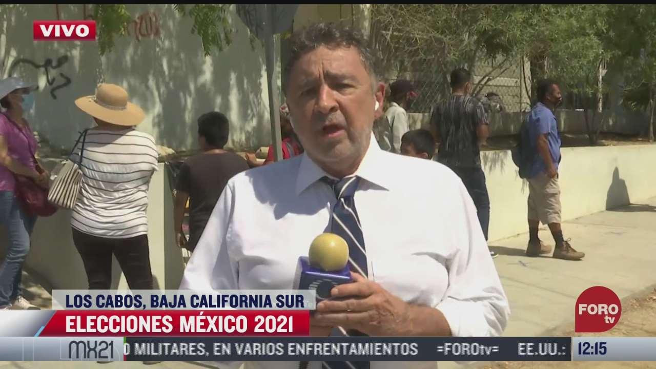 Transcurren elecciones tranquilas en Baja California Sur