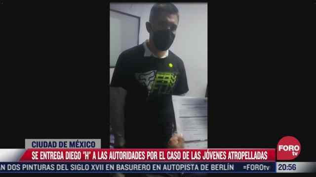 Video del momento de la entrega de Diego H a Fiscalía CDMX
