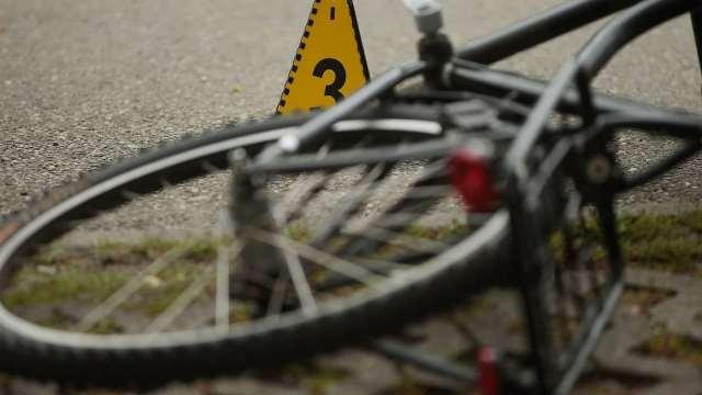 Una bicicleta en el suelo tras un accidente (Getty Images, archivo)