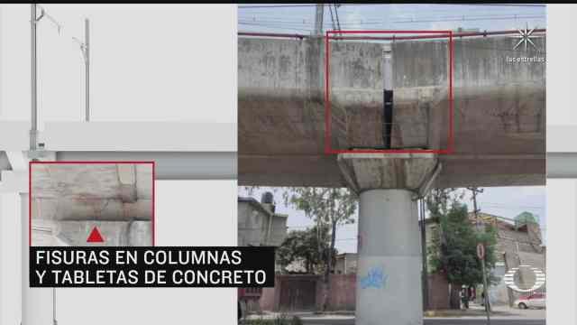 colegio de ingenieros detecta tambien fallas estructurales en tramo elevado de l