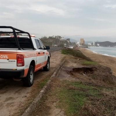 Tormenta tropical 'Dolores' impactó entre los límites de Colima y Michoacán