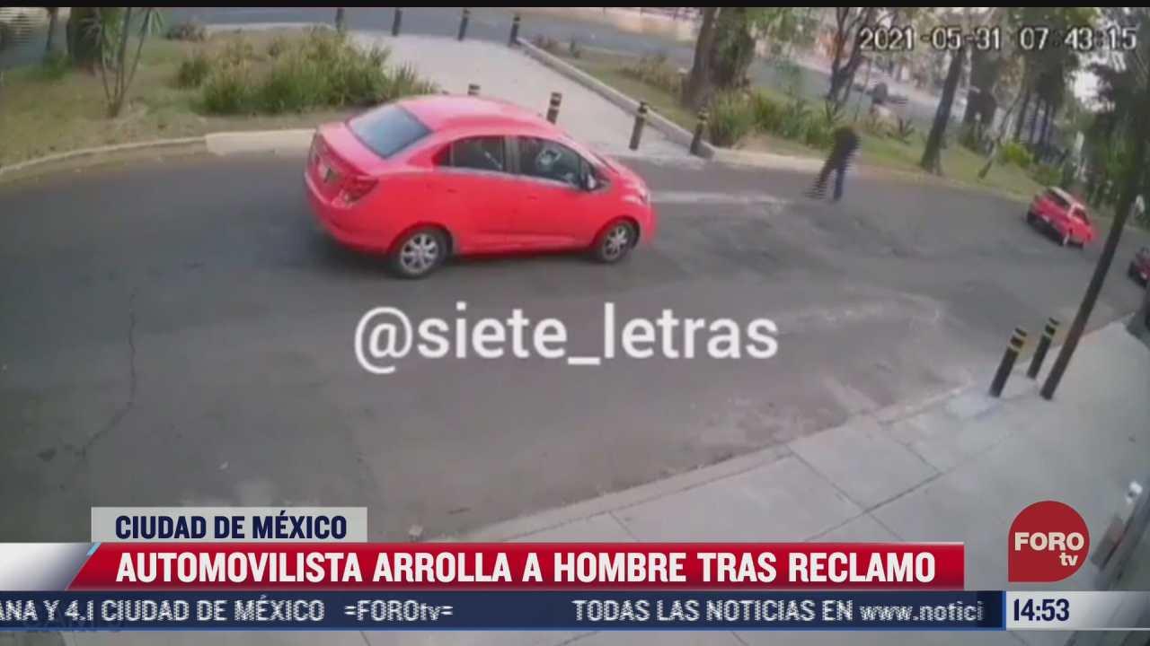 conductor arrolla a otro automovilista tras altercado en iztapalapa
