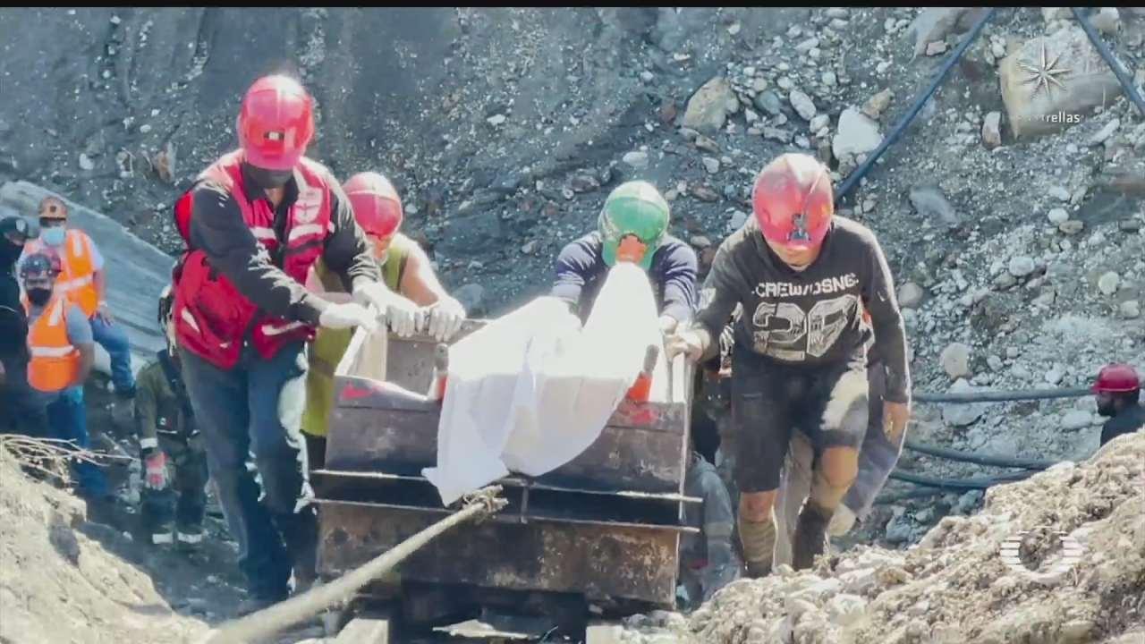 continua el rescate de mineros en muzquiz coahuila
