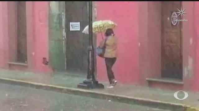 continuaran intensas lluvias en varias regiones del pais