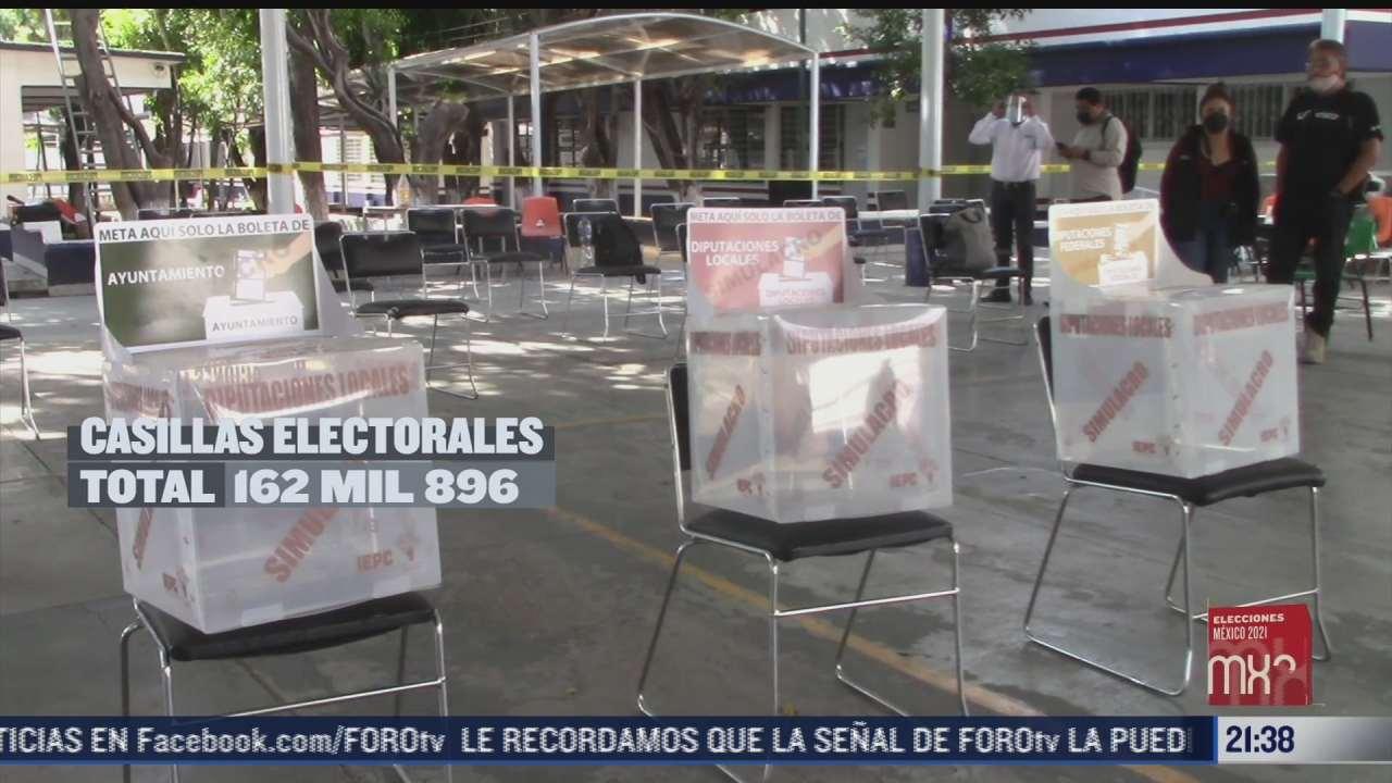 cuantas casillas se instalaran en las elecciones del