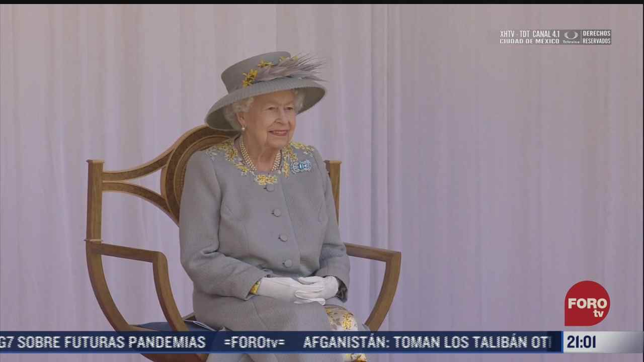 desfile militar por cumpleanos de la reina isabel ii