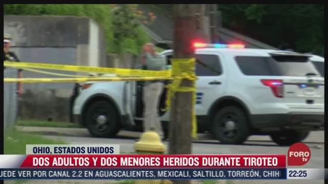dos adultos y dos menores heridos durante tiroteo en eeuu