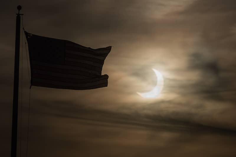 Así se vio el eclipse anular solar del 10 de junio