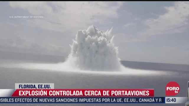 explosion controlada en eeuu genera sismo de magnitud 3 9 en florida