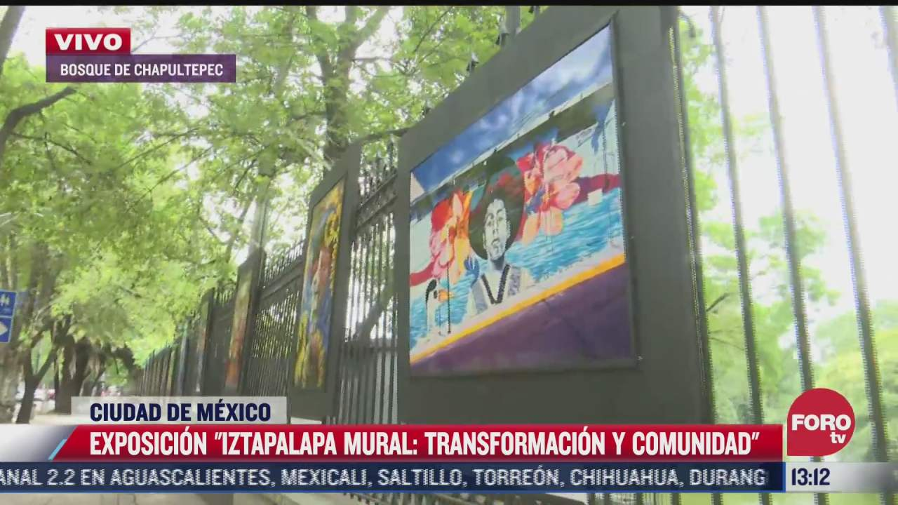 exposicion de arte urbano de iztapalapa llega al bosque de chapultepec