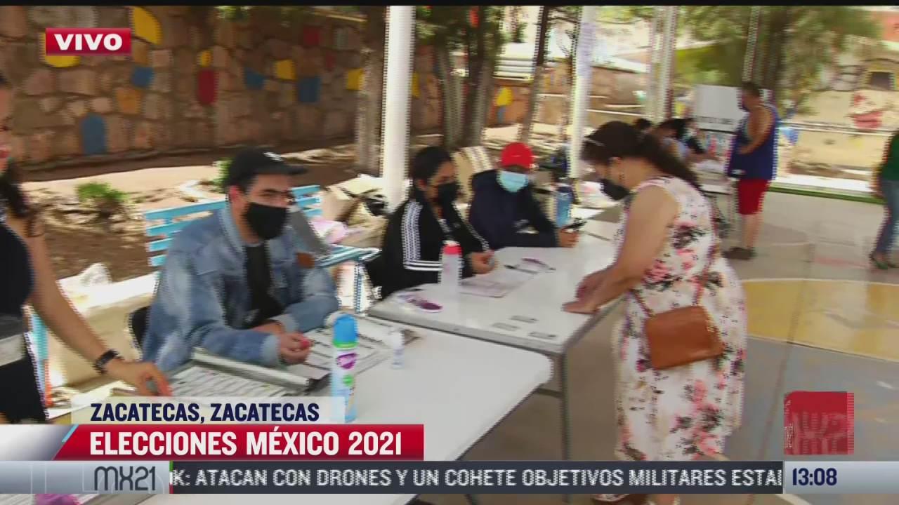 habitantes de zacatecas participan en votaciones