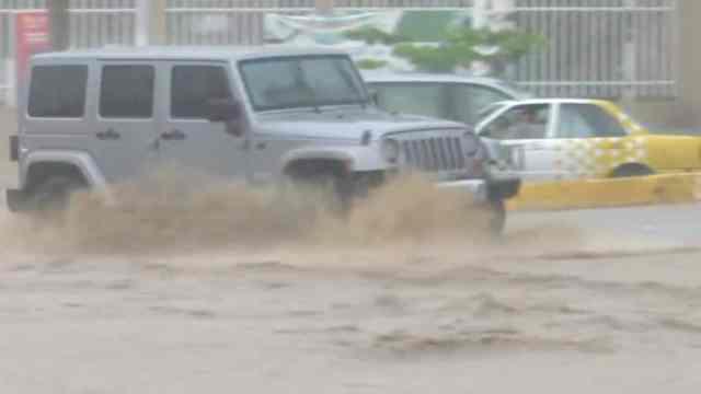 Tormenta tropical 'Dolores' deja inundaciones en regiones de Jalisco
