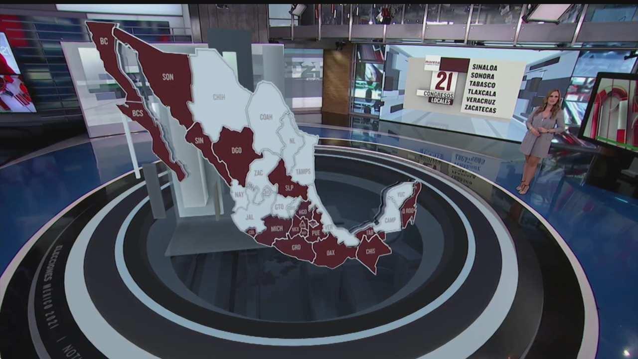 la conformacion politica de los congresos locales en mexico
