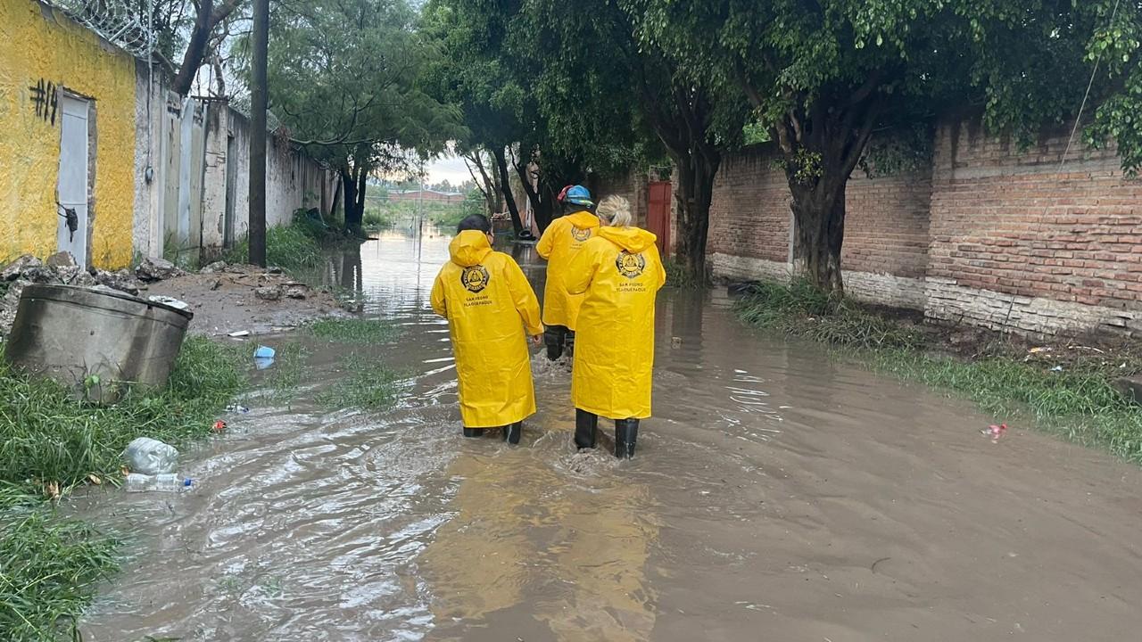 Lluvias causan severas inundaciones en Tlaquepaque, Jalisco