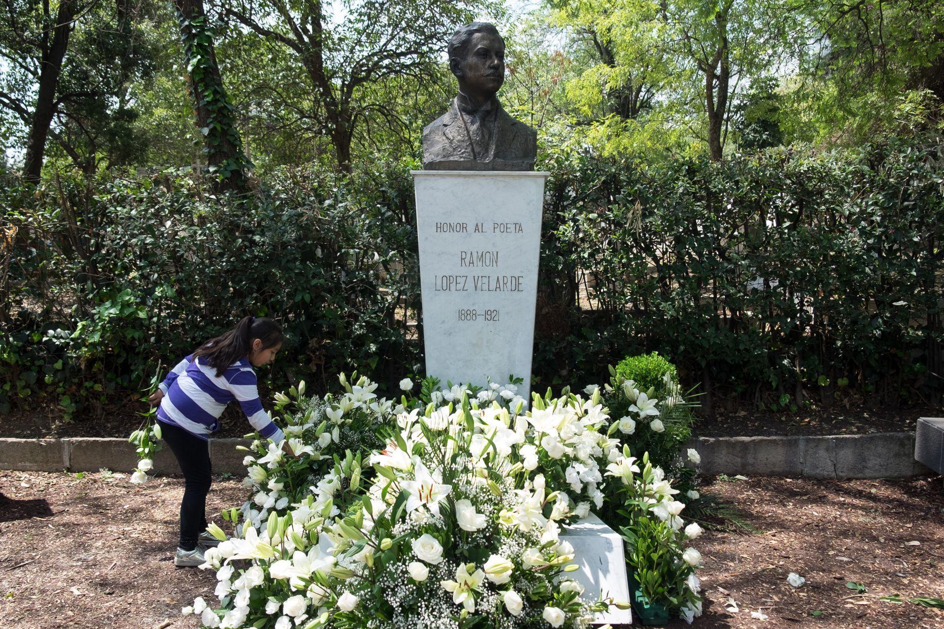 Ramón López Velarde, poesía, literatura, tumba, Ciudad de México