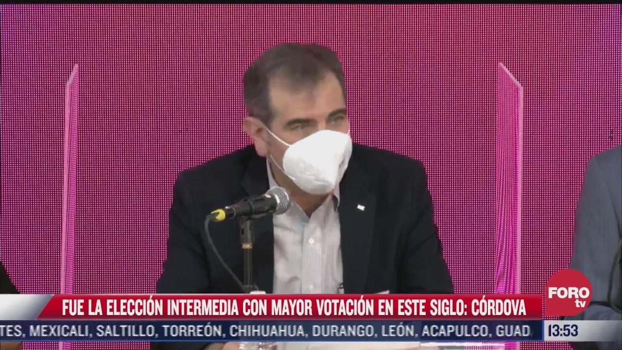 lorenzo cordova fue la eleccion con mayor votacion de este siglo