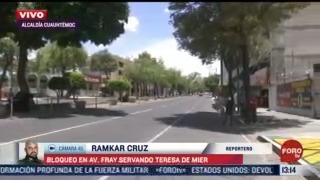 manifestantes bloquean avenida fray servando teresa de mier cdmx