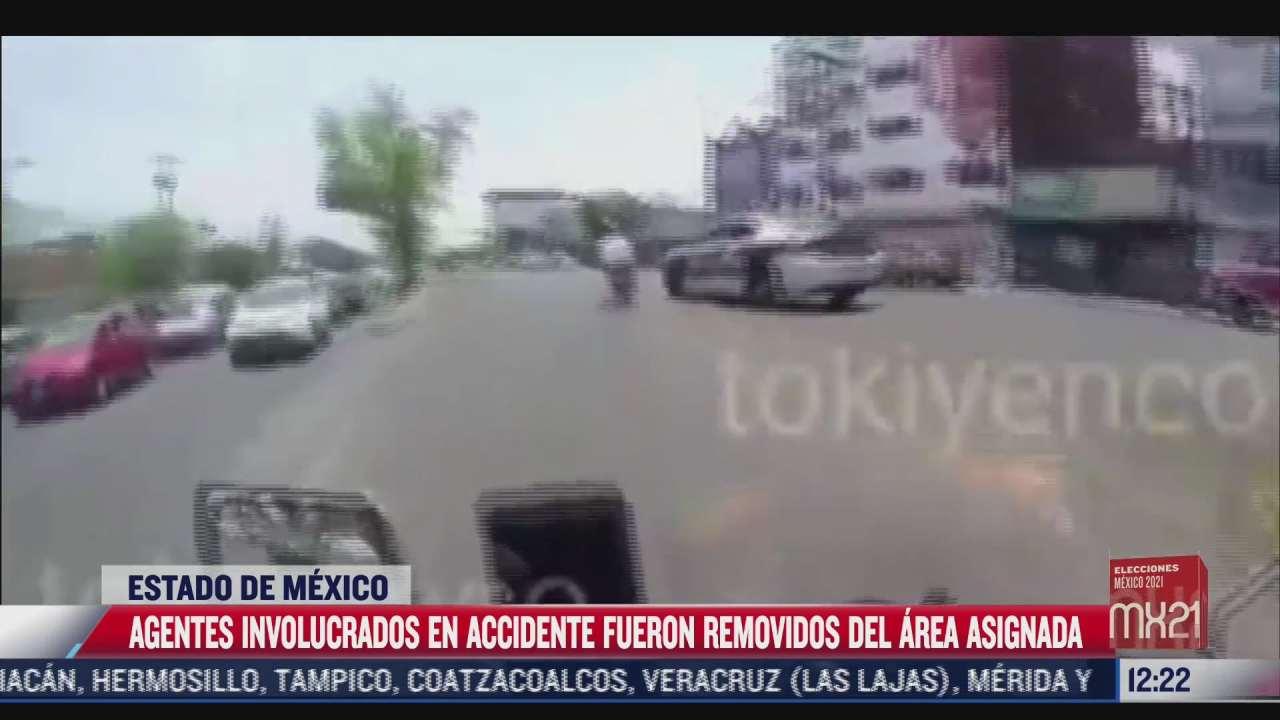 motociclista es atropellado por una patrulla de la policia de tlalnepantla