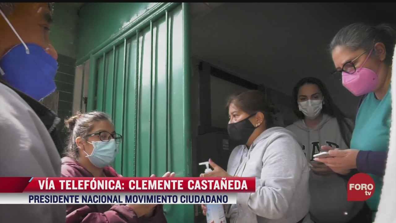 movimiento ciudadano se consolida como tercera opcion para mexico clemente castaneda