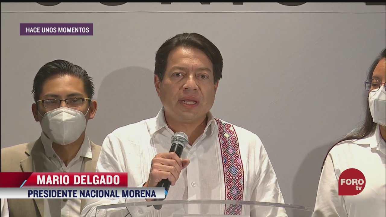 presidentes nacionales de partidos politicos se pronuncian sobre supuestas victorias