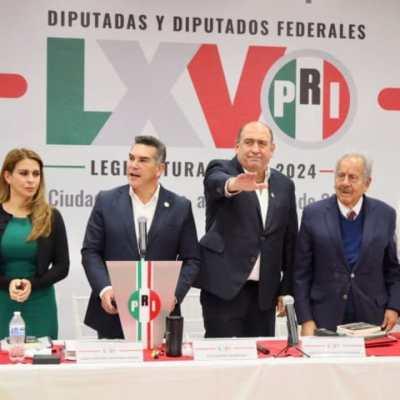PRI designa a Rubén Moreira como coordinador de su grupo parlamentario para la próxima legislatura