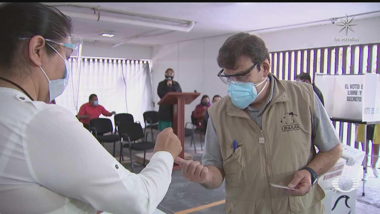 protocolo sanitario para elecciones disenado por especialistas de la unam