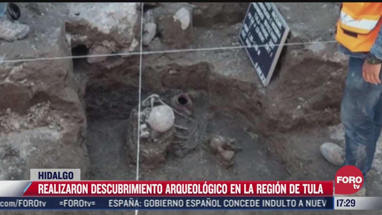 realizan descubrimiento arqueologico en region de tula hidalgo