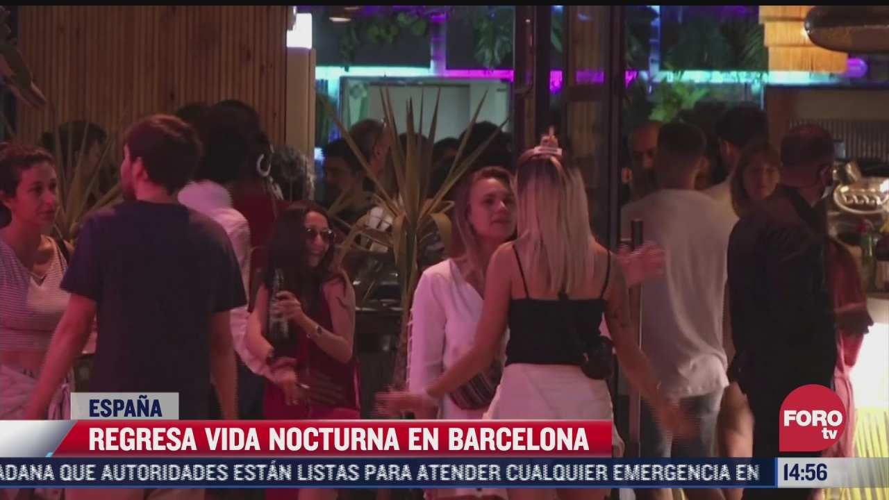 regresa la vida nocturna a espana