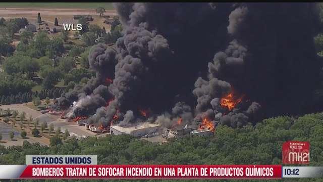 se incendia planta de productos quimicos en eeuu