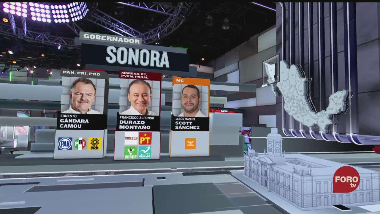seis candidatos buscan la gubernatura en sonora
