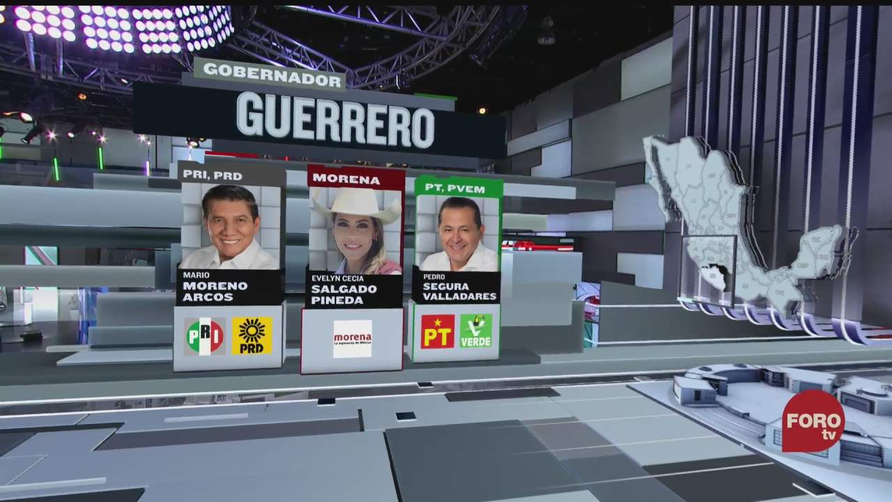 seis candidatos compiten por la gubernatura de guerrero