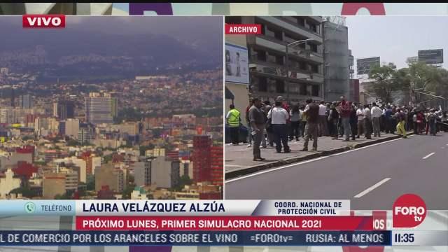 simulacro nacional simulara sismo de magnitud 8 1 laura velazquez alzua