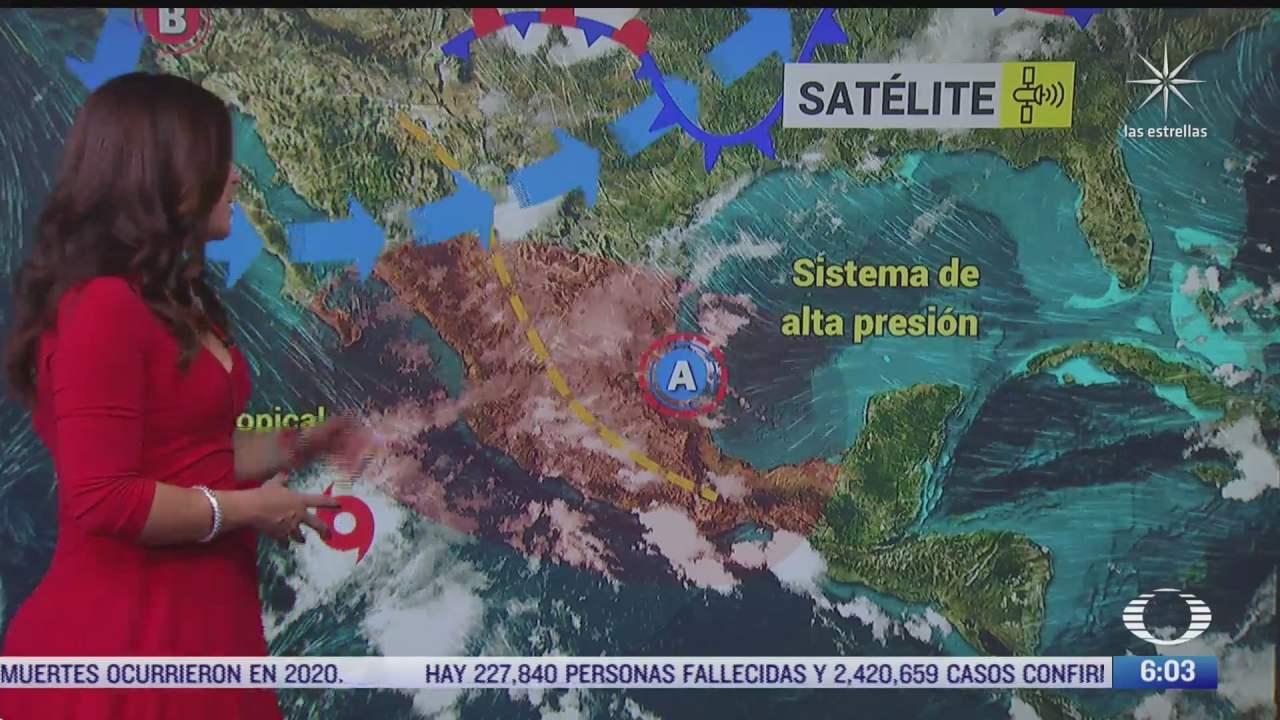 tormenta tropical blanca provocara fuertes lluvias en jalisco y oaxaca