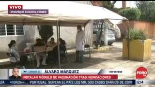 vacunan contra tetanos a pobladores de atizapan tras inundaciones